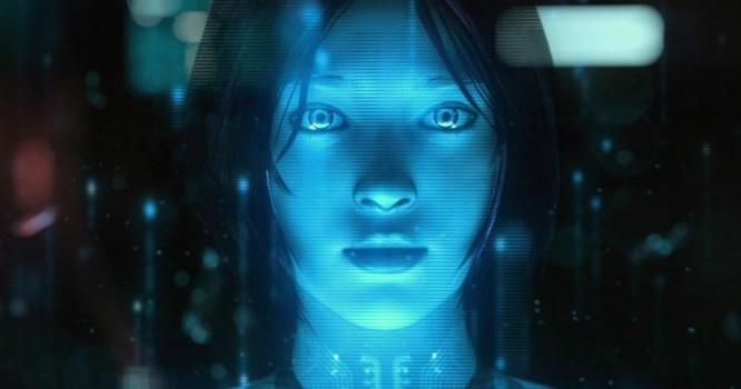 Cortana - cô trợ lý thông minh trên di động của Microsoft.
