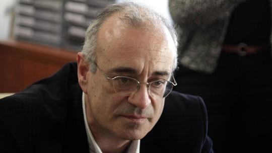 Thứ trưởng Tài chính Hy Lạp Dimitris Mardas. Ảnh: Eurokinissi
