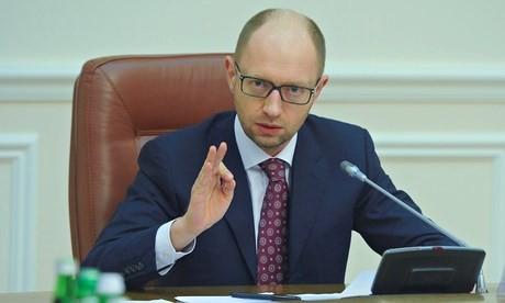 Thủ tướng Yatsenyuk