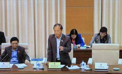 """Chủ nhiệm Ủy ban Pháp luật Phan Trung Lý không đồng tình với một số """"chỉ tiêu"""" về chống oan sai - Ảnh: Trường Sơn"""