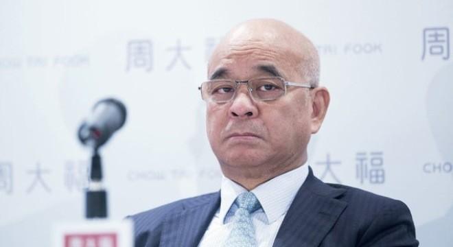 Henry Cheng -Chủ tịch Tập đoàn Chow Tai Fook-Ảnh Bloomberg