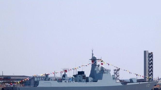 Tàu khu trục Luyang III của Trung Quốc Ảnh: China Defence
