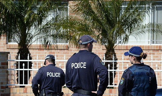 Cảnh sát Úc nói 5 thiếu niên ở Melbourne đang lên kế hoạch khủng bố (Ảnh: Daily Mail)