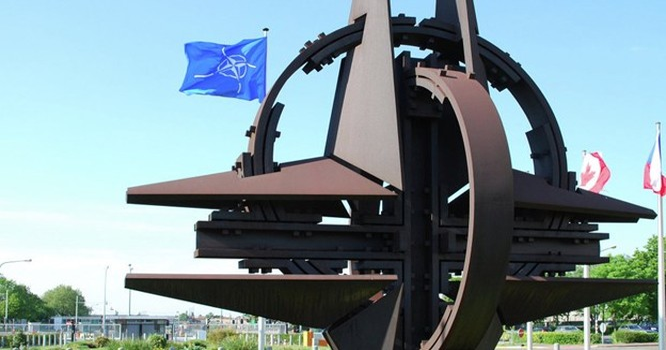 Ukraine bày tỏ nguyện vọng được tham gia vào khối quân sự NATO. Ảnh nguồn NATO