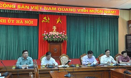 Ông Nguyễn Văn Phong, Phó Trưởng ban Tuyên giáo Thành ủy Hà Nội cho biết những nội dung thông tin chắc chắn sẽ không đáp ứng hết nhu cầu, mong mỏi của các cơ quan báo chí.