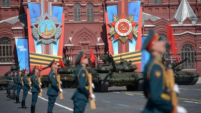 Nga khoe dàn vũ khí tối tân tham gia lễ duyệt binh Ngày Chiến thắng