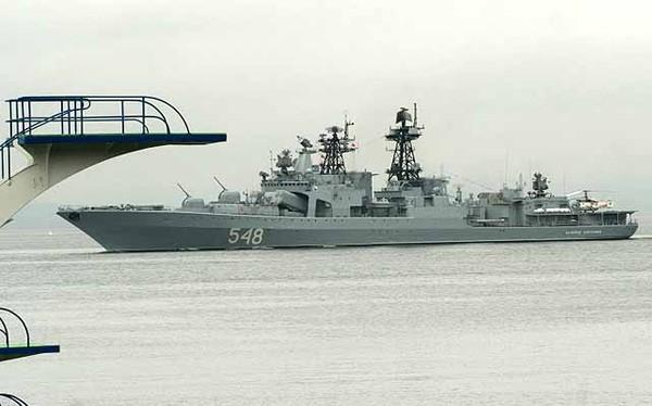 Một chiến hạm của hải quân Nga (Ảnh: Hải quân Nga)