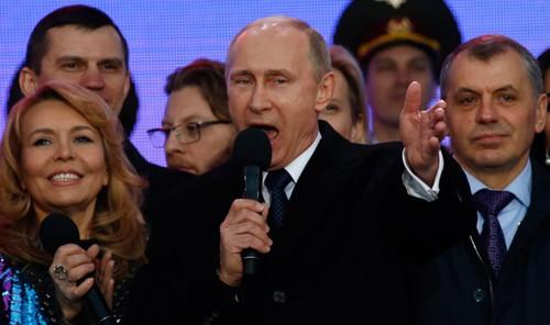 Người dân Nga luôn đứng sau Tổng thống Vladimir Putin. Ảnh: Sputnik