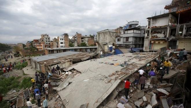 Việt Nam cứu trợ Nepal bị động đất