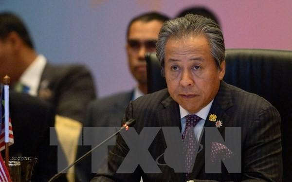 Bộ trưởng Ngoại giao Malaysia Anifah Aman tại hội nghị. (Nguồn: AFP/ TTXVN)