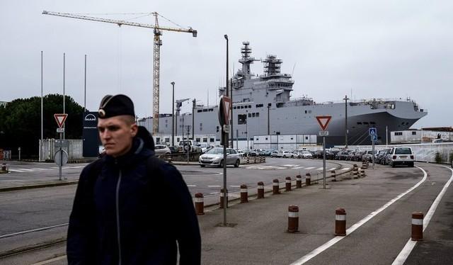 "Hải quân Nga rời khỏi ""Mistral"""