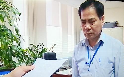 Ông Trung bị cơ quan điều tra ra quyết định khởi tố và bắt tạm giam vào chiều 8/5. Ảnh: Sơn Dương