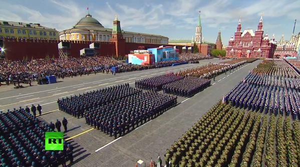 Cận cảnh lễ Diễu binh hoành tráng nhất từ trước đến nay tại Nga