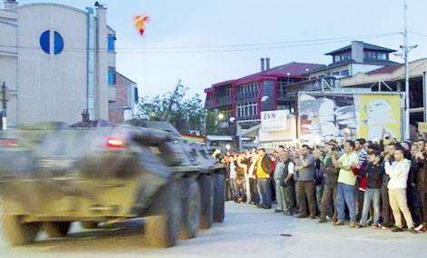 Đụng độ khiến nhiều người bị chết và bị thương ở Macedonia.