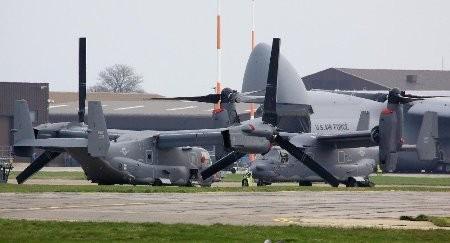 máy bay vận tải CV-22 Osprey