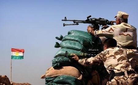 Các chiến binh Peshmerga đã chặn đứng bước tiến của nhóm IS trước khi chúng tiến tới các thành phố A rập