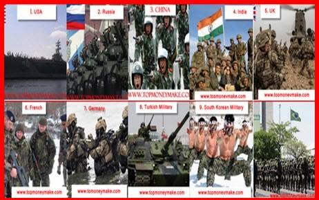 10 quân đội mạnh nhất thế giới