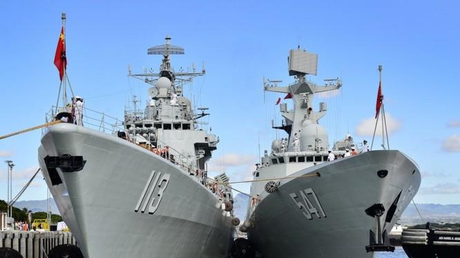 Những chiến hạm hiện đại của Trung Quốc là công cụ hiện thực hóa vẽ lại bản đồ thế giới