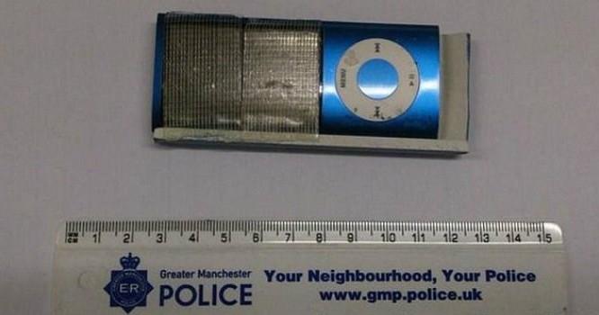 Vật dụng được kẻ ăn cắp sử dụng tại Anh.
