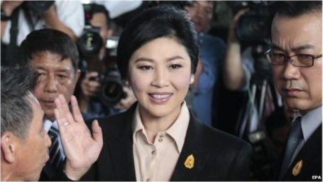Bà Yingluck Shinawatra. Ảnh: EPA