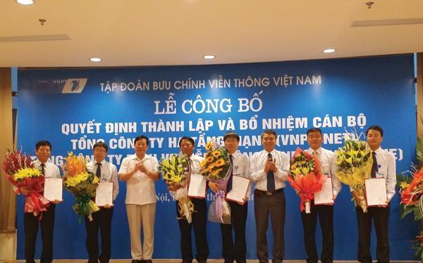 Lễ công bố quyết định thành lập 3 tổng công ty thuộc VNP
