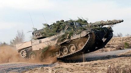 Leopard từ xưa đến nay vẫn là mẫu tăng chủ lực của quân đội Đức.