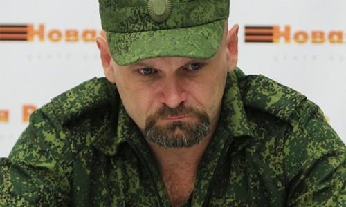 Alexei Mozgovoi, chỉ huy quân sự hàng đầu của nước Cộng hòa Nhân dân Luhansk. Ảnh: Sputnik