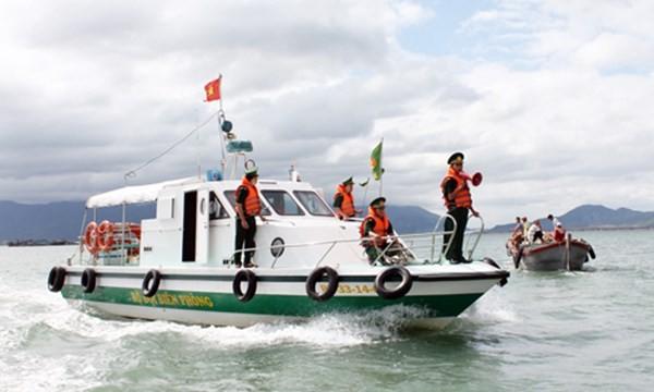 Bộ đội Biên phòng Việt Nam xử lý 4 tàu cá Trung Quốc