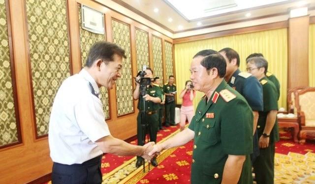 Lực lượng phòng không Nhật Bản - Việt Nam tăng cường hợp tác