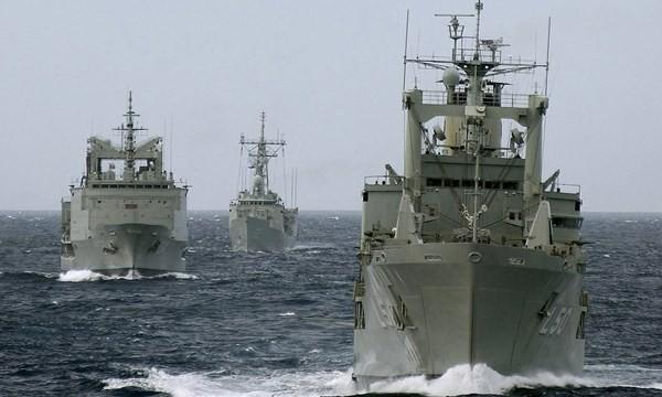 Các chiến hạm của Hải quân Hoàng gia Úc