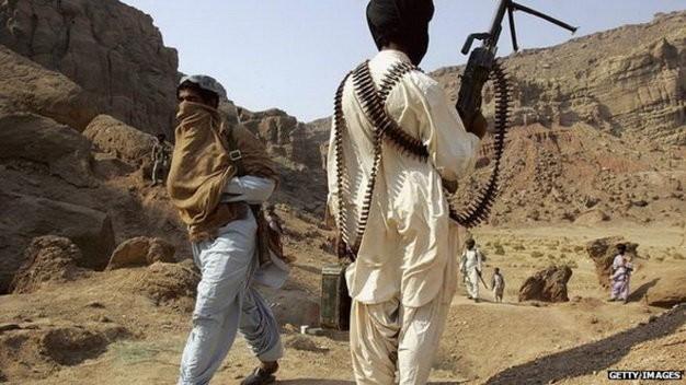 Nhiều năm qua Baluchistan là nơi giao tranh giữa phiến quân và quân đội Pakistan - Ảnh: AFP