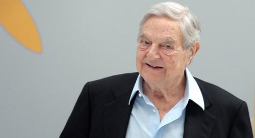 Trùm tài phiệt George Soros. Ảnh: AFP