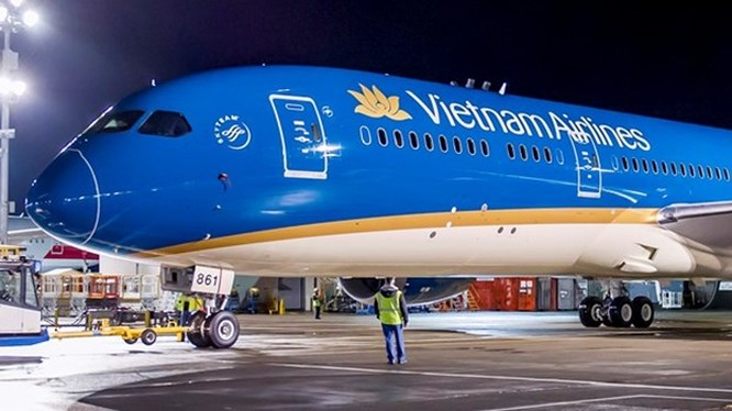 Chi tiết chiếc Boeing 787-9 của Vietnam Airlines