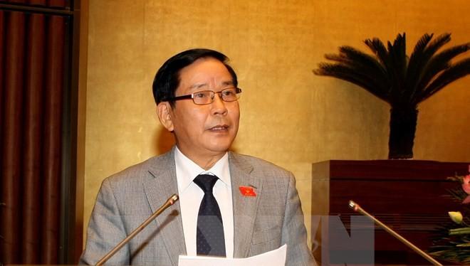 Chủ nhiệm Ủy ban Đối ngoại của Quốc hội Trần Văn Hằng. (Ảnh: Phạm Kiên/TTXVN)