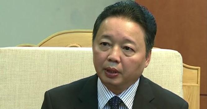 Thứ trưởng Bộ Tài nguyên và môi trường Trần Hồng Hà.