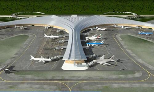 Phối cảnh Sân bay Long Thành.Ảnh: ACV