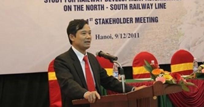 Trần Quốc Đông, nguyên Phó tổng giám đốc Tổng Công ty Đường sắt Việt Nam.
