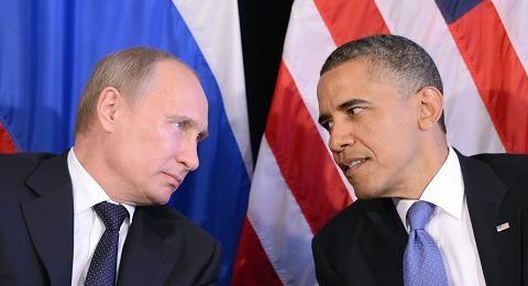 Hai nhà lãnh đạo Nga và Mỹ