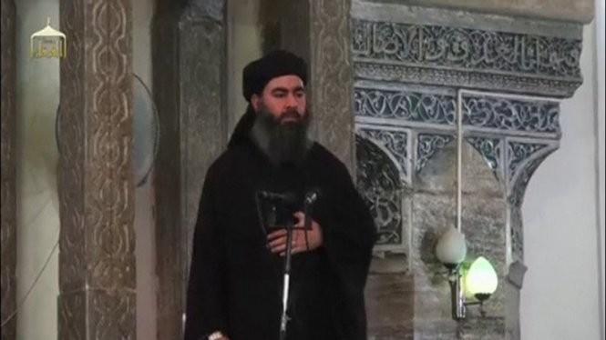 Abu Bakr al-Baghdadi - thủ lĩnh tối cao của IS - Ảnh: Reuters