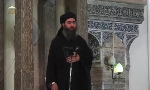 Thủ lĩnh tối cao của IS Abu Bakr al-Baghdadi. Ảnh: Reuters