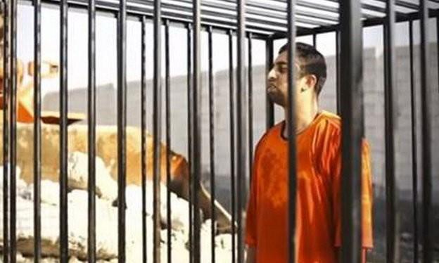 Phi công người Jordan Maaz al-Kassasbe bị IS thiêu sống hồi tháng 2 năm nay - Ảnh: Reuters
