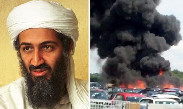 Mẹ kế và em gái ông trùm quá cố Osama bin Laden được cho là đã tử nạn trong vụ rơi máy bay ở Anh ngày 31-7 - Ảnh: ABC