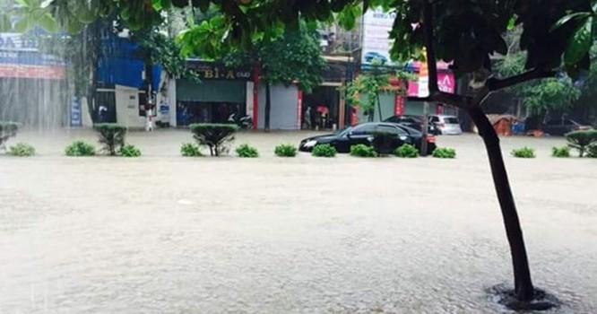 Trận mưa lũ ở Quảng Ninh phá vỡ nhiều số liệu lịch sử