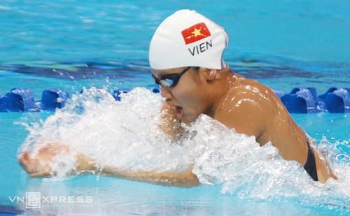 Ánh Viên là tay bơi nữ hay nhất ở khu vực hiện nay. Ảnh: Đức Đồng