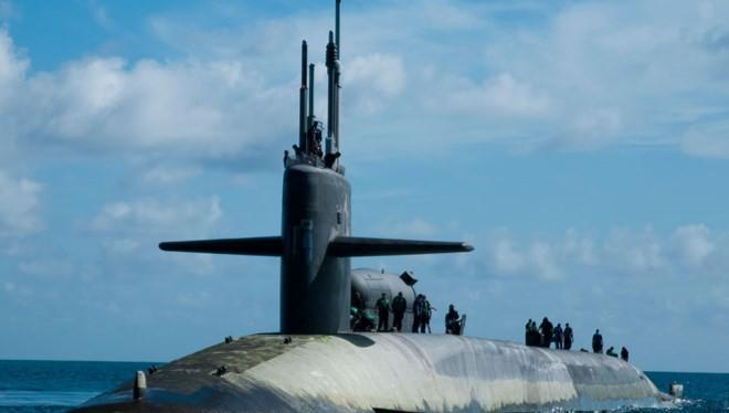 """Tàu ngầm hạt nhân chiến lược lớp """"Ohio"""""""