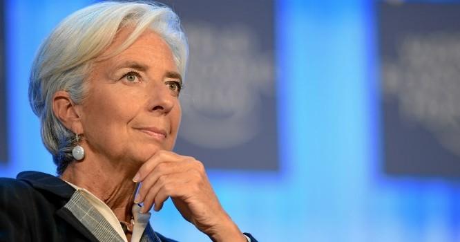 Giám đốc điều hành IMF – bà Christine Lagarde. Ảnh: Bloomberg