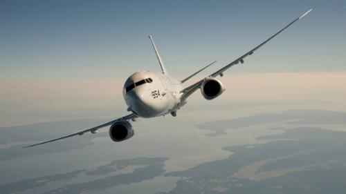 Máy bay trinh sát P-8. Ảnh: Boeing
