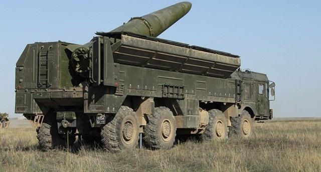 Tên lửa chiến thuật iskander - M