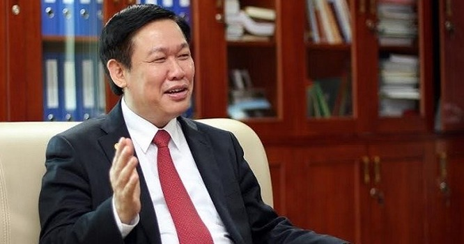 GS.TS Vương Đình Huệ, Trưởng ban Kinh tế Trung ương.