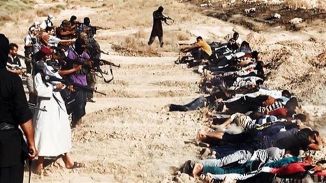 Hàng ngàn người Iraq đã bị IS hành quyết kể từ khi nhóm này trỗi dậy tháng 6-2014 - Ảnh: Press TV